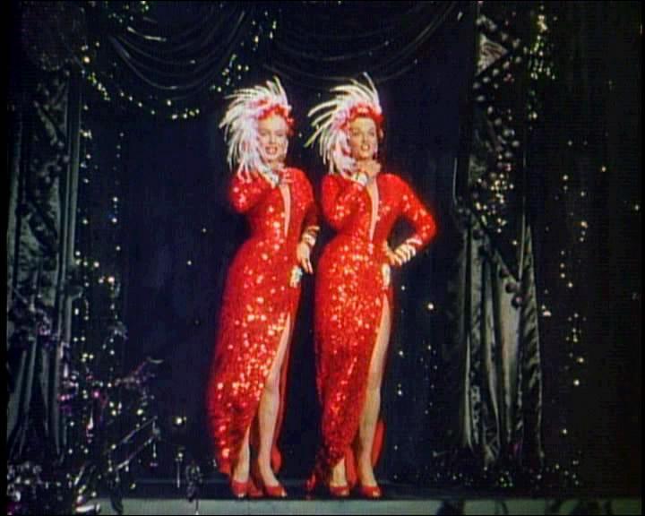 Dans quel film Jane Russell, décédée le 28 février, a-t-elle joué aux côtés de Marylin Monroe ?