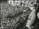 Le 17 juin 1940, en pleine débacle et suite à la démission du gouvernement Reynaud, Philippe Pétain appelle les Français à cesser le combat. Quelle célèbre phrase a-t-il prononcée ?