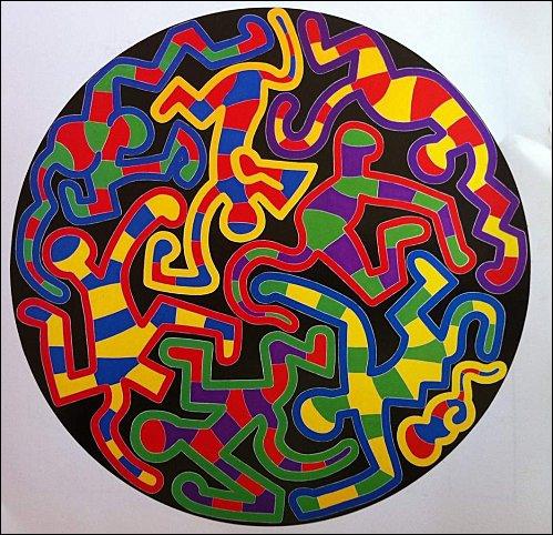 Voici une oeuvre inspirée par un grand maître, réalisée par le peintre ?