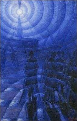 Cette toile s'intitule Brouillard de nuit et a été réalisée par ?