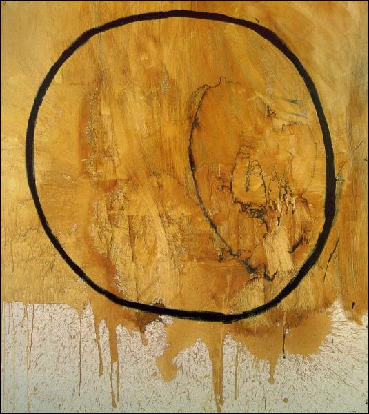 Voici un cercle qui a été titré La terre par son auteur, qui est ?
