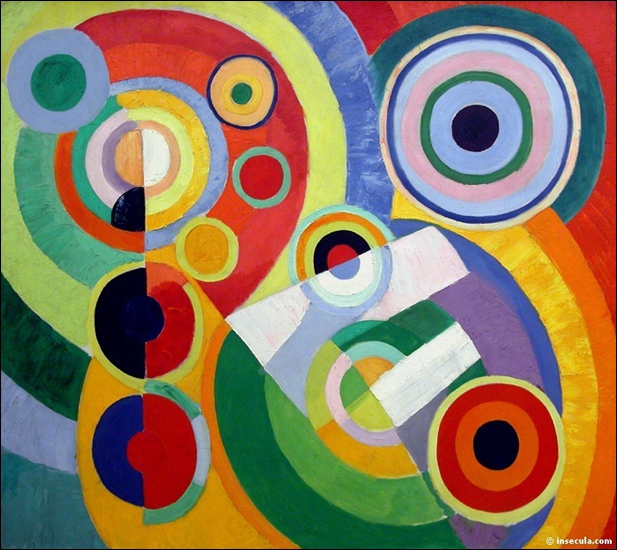 Couleurs et cercles donnent vie à cette oeuvre de ?