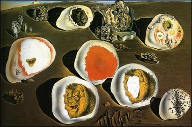 Accomodation des désirs, oeuvre faisant usage de formes arrondies, a été peint par ?
