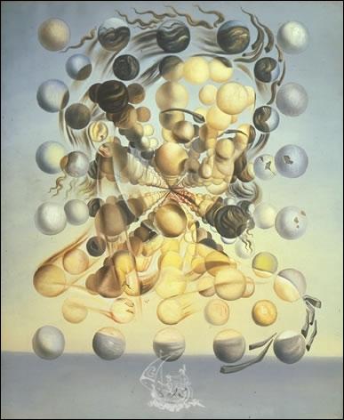 Ce tableau est titrée Galatea des sphères, et a été peint par l'artiste ?