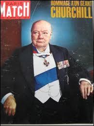 Churchill décède en 1965 à l'âge de 90 ans . Comment se sont déroulées ses obsèques ?