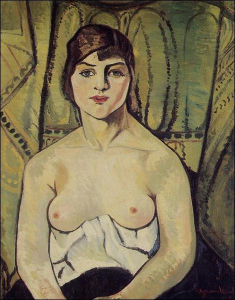 Qui a peint 'Femme au seins nus' ?
