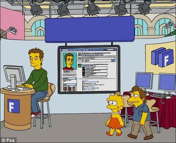 A la sortie de ce jeu, devine qui Lisa a rencontré sur le plateau de TV d'à côté ?