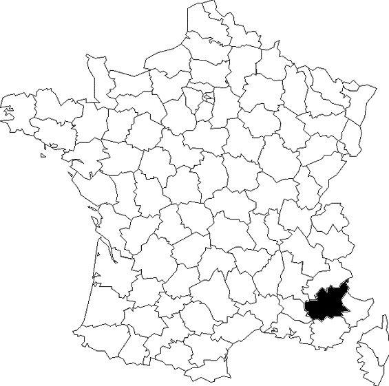 Une carte, des départements (1)
