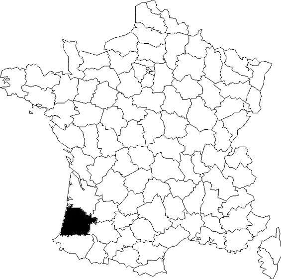 Une carte, des départements (2)