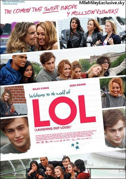 Aux côtés de qui joue Ashley Greene dans  LOL : Laughing Out Loud  ?