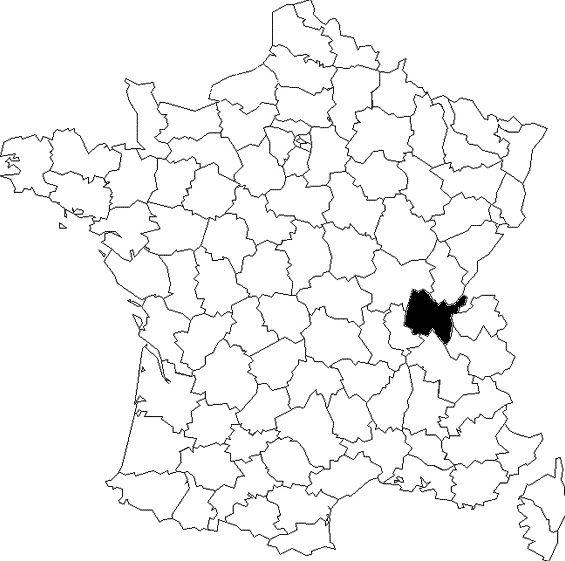 Une carte, des départements (3)