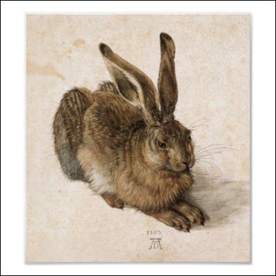 Qui a peint ce 'Jeune lièvre' ?
