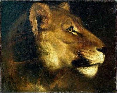 De qui est cette 'Tête de lionne' ?