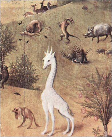 Qui a représenté 'La girafe' ?