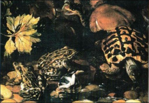 Qui a peint ces 'Reptiles' ?