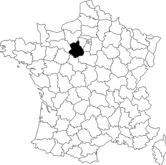 Une carte, des départements (4)