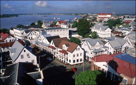 surinam-capitale