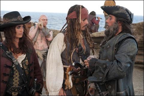 Qui est le capitaine du Queen Ann's Revenge ?