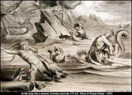 Comment s'appelaient les monstres qui menaçaient Ulysse dans le détroit de Messine ?