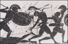 A la fin de cette guerre victorieuse, contre quel peuple Ulysse et ses compagnons ont-ils livré une autre bataille ?