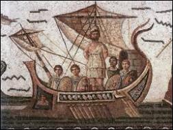Que contenait l'outre offerte par le dieu Eole à Ulysse ?