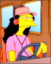 Comment s'appelle le chauffeur d'autobus de Springfield ?