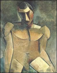Qui a peint cet 'Homme nu assis' ?