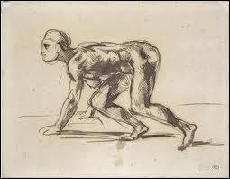 Qui a dessiné 'Homme à l'affut' ?