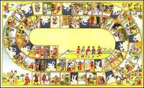 Traditionnellement, ce jeu de hasard pur comprend 63 cases. Quel est ce jeu du XVIe siècle ?