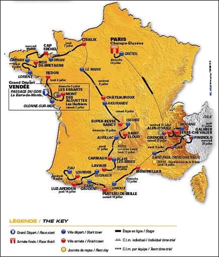 Qui a remporté le Tour de France 2011 ?