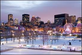 Je reviendrai à Montréal / Dans un grand Boeing bleu de mer / J'ai besoin de revoir l'hiver / Et ses aurores boréales / Descendue droit du Labrador / Et qui fait neiger sur l'hiver  / Des roses bleues, des roses d'or''