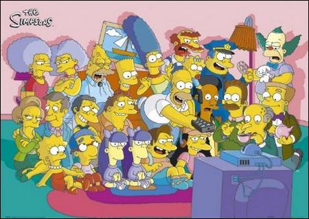 De quelle couleur était Boule de neige I, la première chatte des Simpson ?