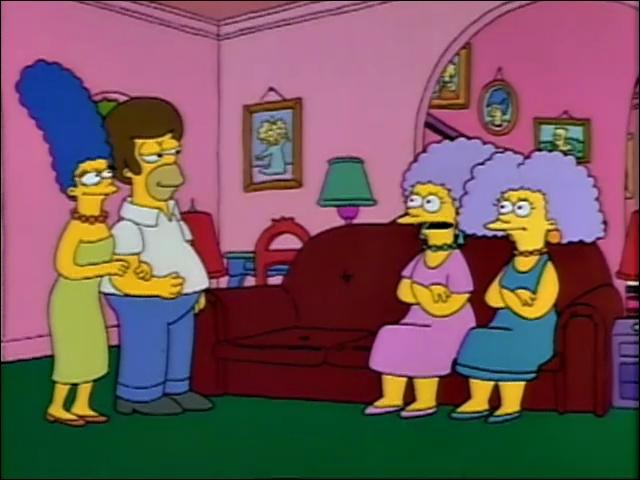 Comment se nommait le chat de Marge et ses soeurs lorsqu'elles étaient petites ?