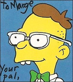 Comment s'appelle le premier petit ami de Marge ?