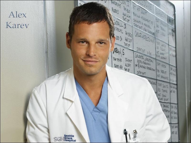 Qui interprète le rôle de Alex Karev ?