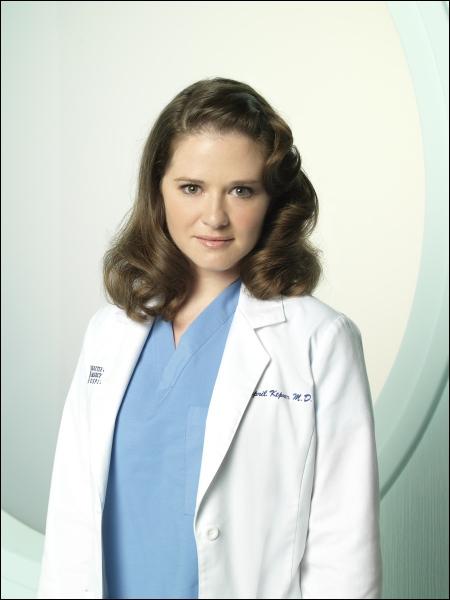 Qui interprète le rôle de April Kepner ?