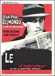 Dans cefilm de Jean-Pierre Melville, Serge Reggiani est son principal partenaire : Le ... ...