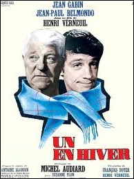 La seule rencontre de Gabin-Belmondo au cinéma : Un ... . . en hiver