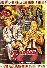 Un petit rôle de musicien dans un film de Marc Allégret : Un drôle de... . .