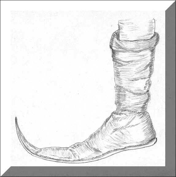 A quel chocolat cette chaussure médiévale vous fait-elle penser ?