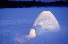 A quel chocolat vous fait penser cette habitation arctique ?