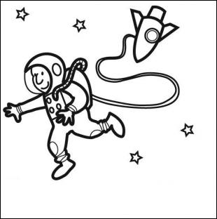 A quel chocolat ce joyeux astronaute vous fait-il penser ?