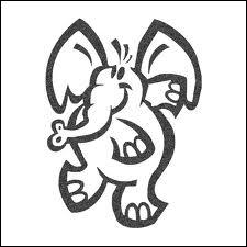A quel chocolat ce bel éléphant vous fait-il penser ?