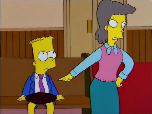 Qui a écrit 'Les siestes scandaleuses' dont s'est plaint Abraham Simpson ?