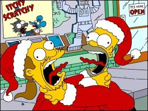 Qu'est-ce qu'Homer ne veut pas à Noël ?