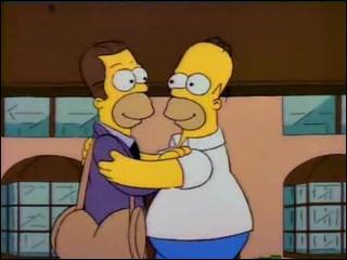 Qui a adopté Herb, demi-frère d'Homer ?