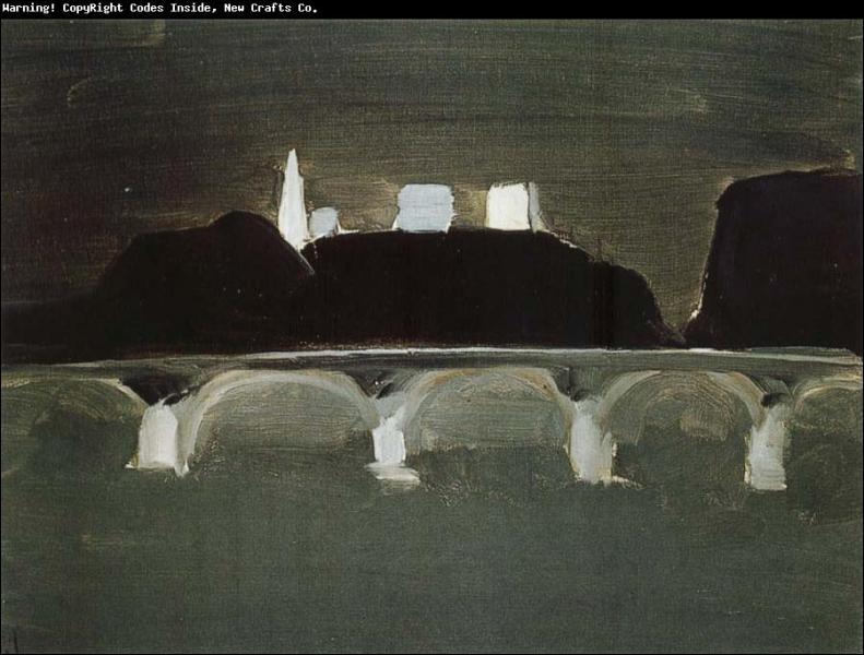 Ce tableau de Nicolas de Staël aurait pu servir de toile de fond au film... ?