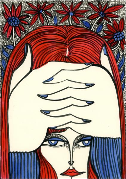 Cette oeuvre de Petra Borner pourrait illustrer le film ?