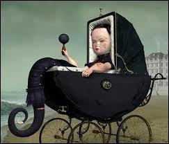 Cet étrange (voire pire) tableau de Ray Caesar pourrait parfaitement illustrer ?