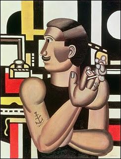 Ce gros bras en marcel, peint par Fernand Léger, aurait pu illustrer ?